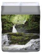 Four Falls Walk Waterfall 5 Duvet Cover