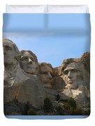 Four Former U S Presidents Duvet Cover