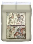 Four Horsemen, 1250 Duvet Cover