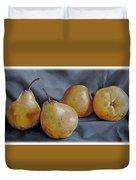 Four Pears Duvet Cover