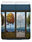 Four Seasons Duvet Cover
