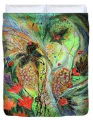 Four Seasons Of Vine Summer Duvet Cover
