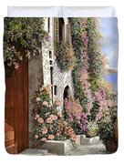 four seasons- spring in Tuscany Duvet Cover
