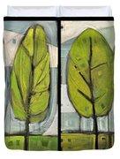 Four Seasons Tree Series Duvet Cover