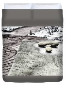 Four Stones Duvet Cover