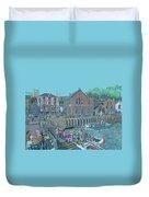 Fowey Cornwall Duvet Cover