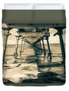 Fowlers Bay Jetty Duvet Cover