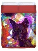 Fox Animal Tuscany  Duvet Cover