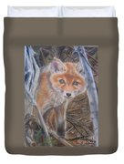 Fox Cub Duvet Cover