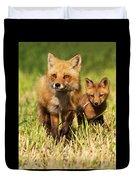 Fox Family Duvet Cover