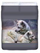 Fox Moods Duvet Cover