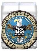 Fox News Presidential Seal Duvet Cover