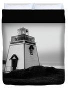 Fox Point Lighthouse Duvet Cover