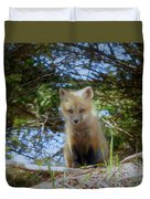 Fox Pup112 Duvet Cover
