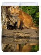 Fox Reflection Duvet Cover