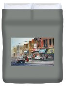 Fox Theater - Steven's Point Duvet Cover