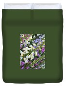 Foxglove Fancy Duvet Cover