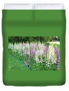 Foxglove Garden Duvet Cover