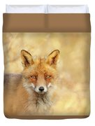 Foxy Faces Series- That Look Duvet Cover