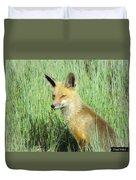 Foxy Lady Duvet Cover