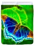 Fractal Butterfly Duvet Cover