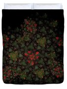 Fractal Christmasbouquet  Duvet Cover