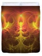 Fractal Fireworks Duvet Cover