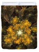 Fractal Floral 02-12-10 Duvet Cover