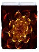 Fractal Floral 062610a Duvet Cover