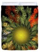 Fractal Floral 12-05-09 Duvet Cover