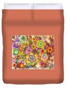 Fractal Floral Study 2 Duvet Cover
