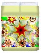 Fractal Garden 9 Duvet Cover