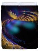 Fractal Of The Day Se02 Ep02 Wings Duvet Cover