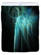 Fractal Rays Duvet Cover