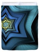 Fractal Star Duvet Cover