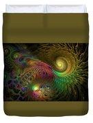 Fractal Swirls Duvet Cover