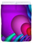 Fractalized Colors -1- Duvet Cover
