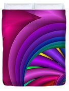 Fractalized Colors -3- Duvet Cover by Issabild -