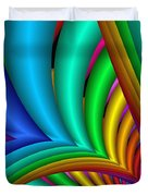Fractalized Colors -4- Duvet Cover
