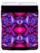 Fractals By Design Duvet Cover