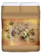 Fragmented Time Duvet Cover