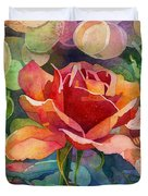 Fragrant Roses Duvet Cover