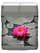 Fragrant Water Lily Duvet Cover