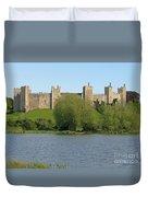 Framlingham Castle Duvet Cover