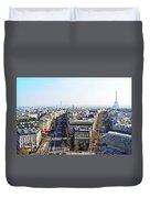 France Montmartre Paris Duvet Cover