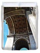 France Triumph Monument Duvet Cover