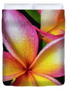 Frangipani After The Rain Duvet Cover