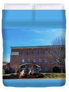 Frank Family Science Center At Guilford College Duvet Cover
