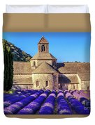All Purple, Cistercian Abbey Of Notre Dame Of Senanque, France  Duvet Cover