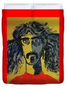 Frank Zappa Duvet Cover